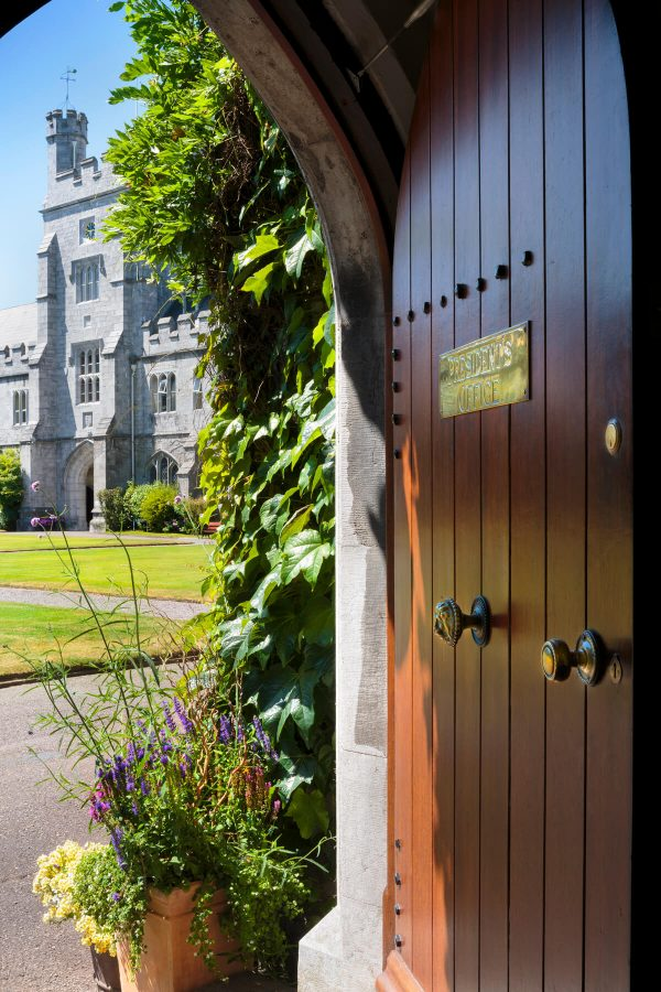 Jim McCarthy Photographer Cork - Photography Prints - UCC Quad View from President's Office Door