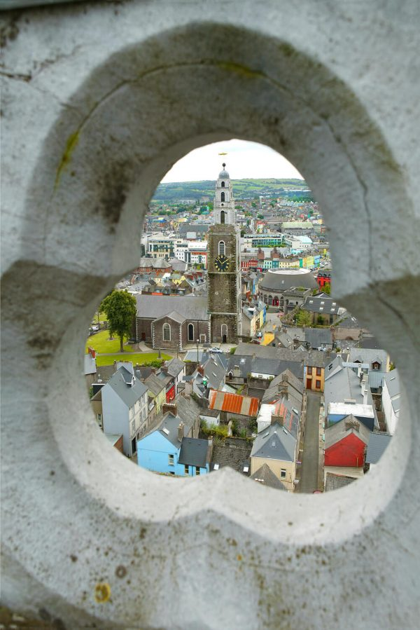 Jim McCarthy Photographer Cork - Photography Prints - View of Shandon from North Cathedral #9677