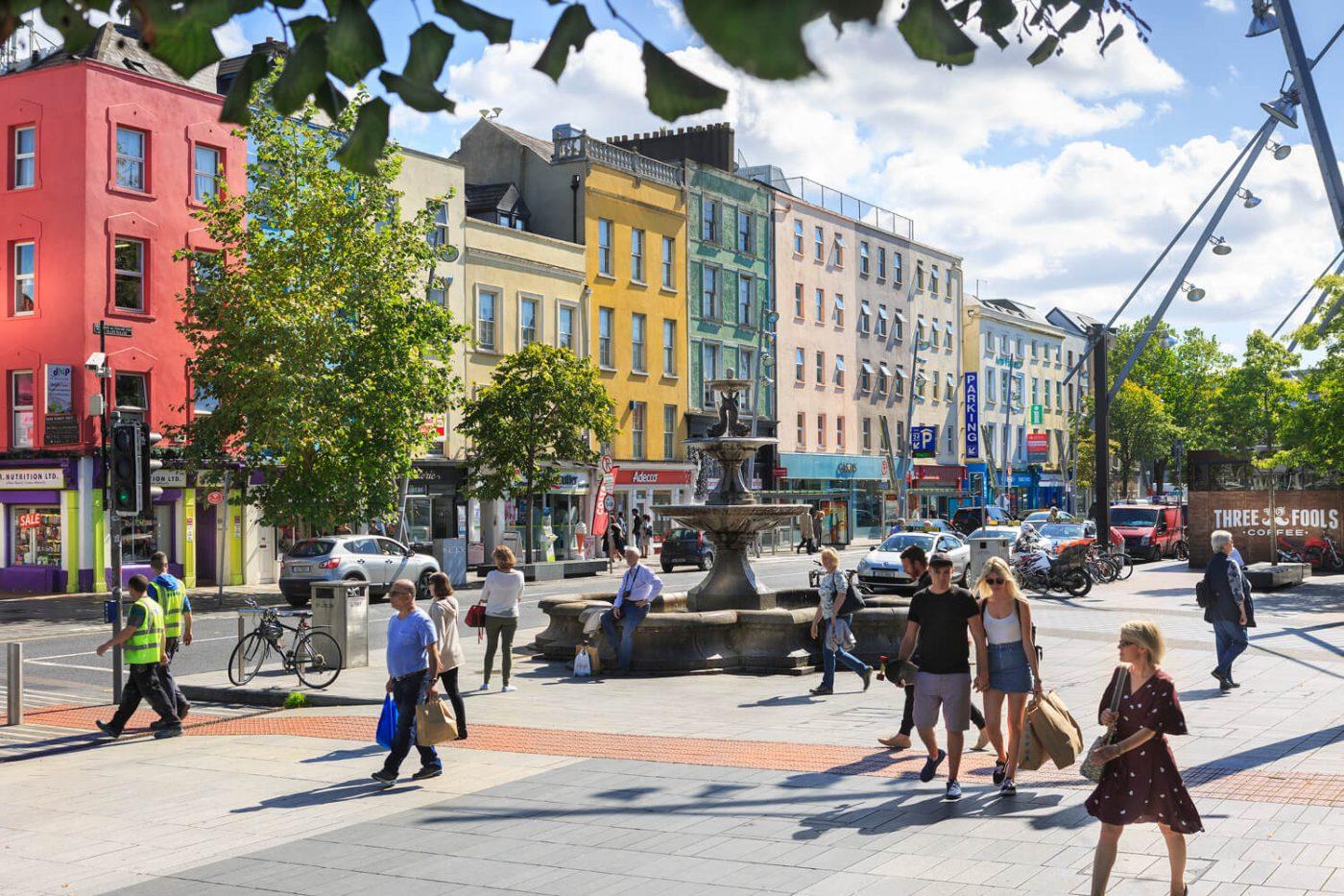 Jim McCarthy Photographer Cork - Photography Prints - Berwick Fountain on The Grand Parade Cork #5120