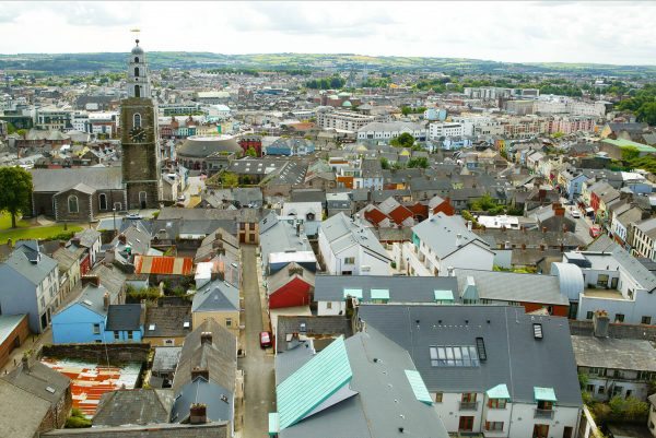 Jim McCarthy Photographer Cork - Photography Prints - View from the North Cathedral looking South #9651