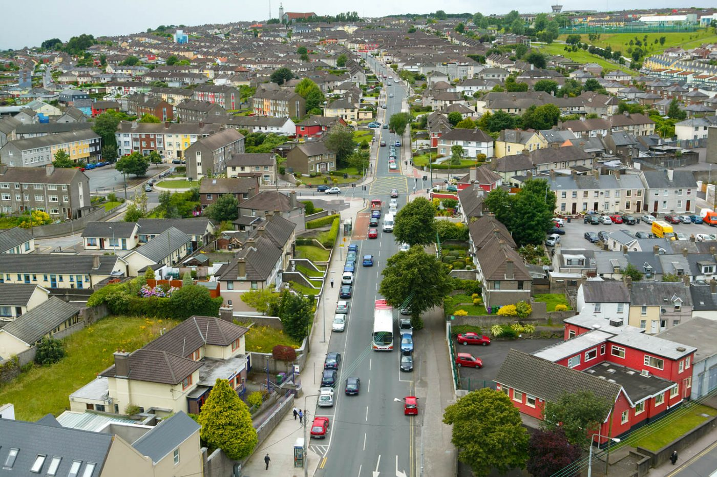 Jim McCarthy Photographer Cork - Photography Prints - Cathedral Road Cork #9688